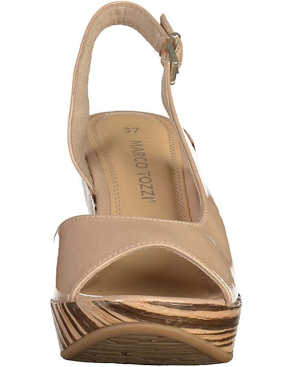 MARCO TOZZI Sandalen beige