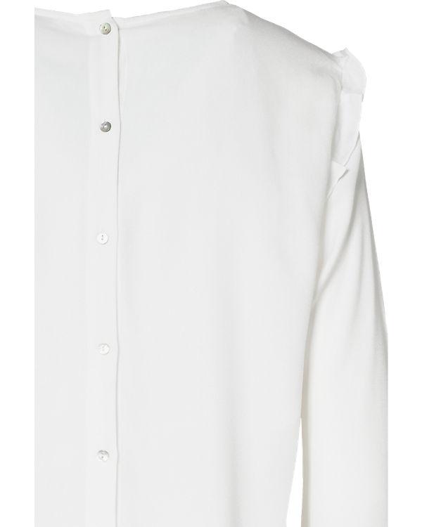 ESPRIT Bluse weiß