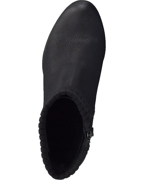MARCO TOZZI Stiefeletten schwarz