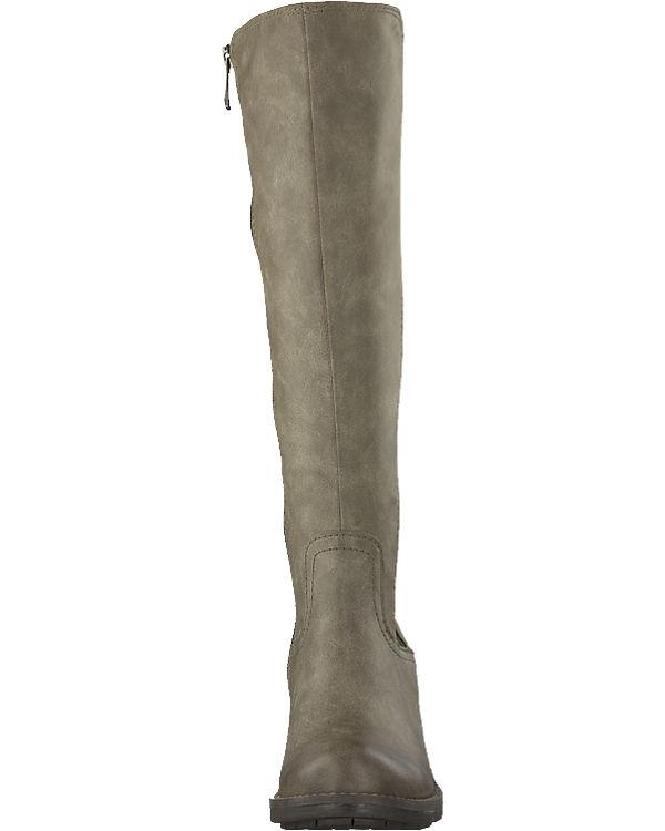 MARCO TOZZI Stiefel beige