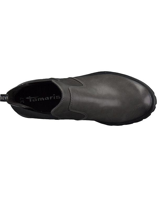 Tamaris Stiefeletten anthrazit