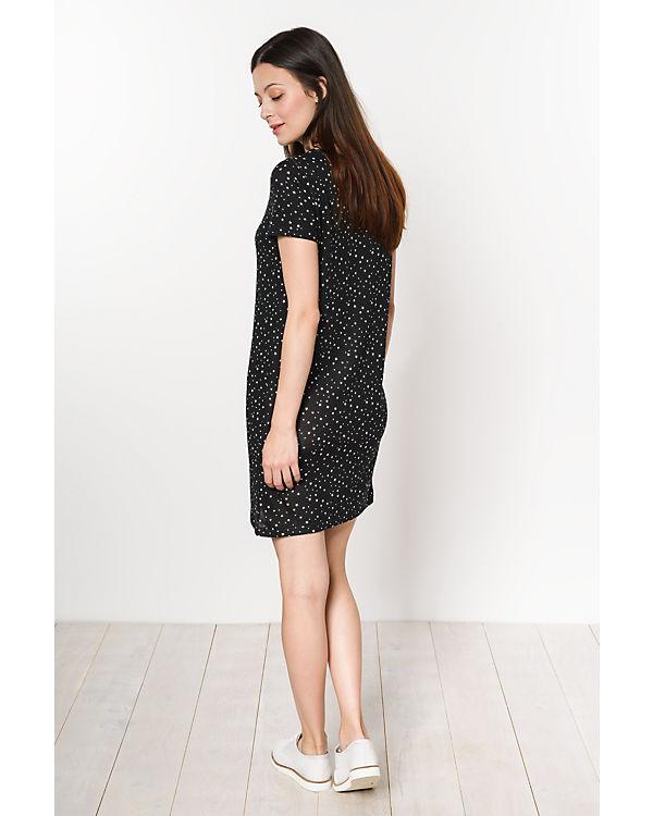 ONLY Kleid schwarz/weiß