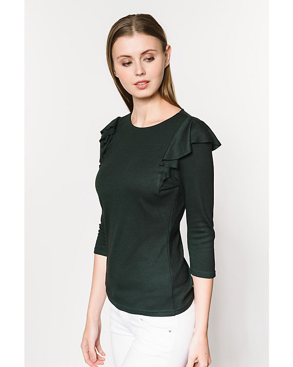 ONLY 3/4-Arm-Shirt grün