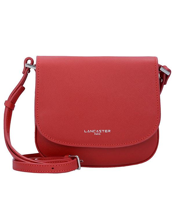 Lancaster Lancaster Adele Mini Bag Umhängetasche Leder 20 cm rot