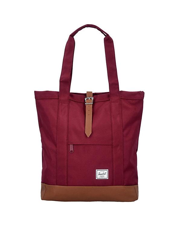 Herschel Herschel Bags Market Shopper Tasche 33 cm rot