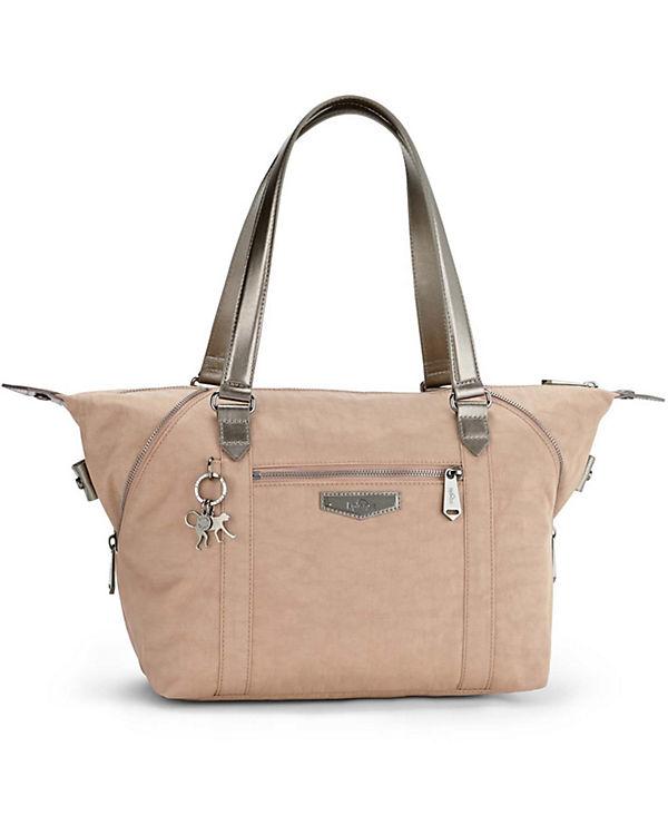 Kipling Kipling Basic Plus Art S 17 Handtasche 44 cm beige