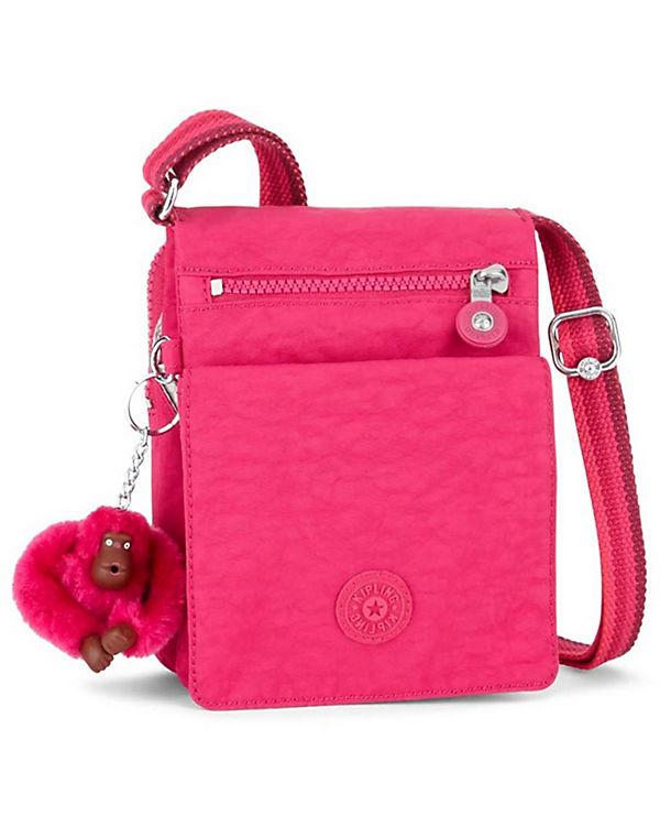 Kipling Kipling Basic Travel ElDorado 17 Umhängetasche 15 cm pink