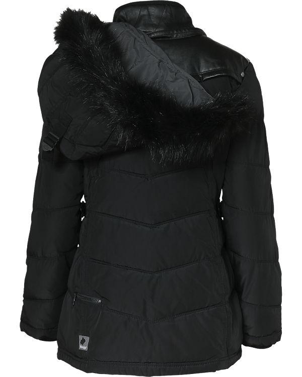 Khujo Winterjacke Winsen II schwarz
