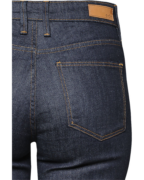 edc by ESPRIT Jeans Straight High Rise blue denim