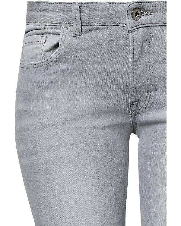 edc by ESPRIT Jeans Skinny Medium Rise hellgrau