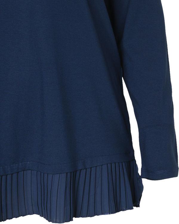 TRIANGLE Langarmshirt blau