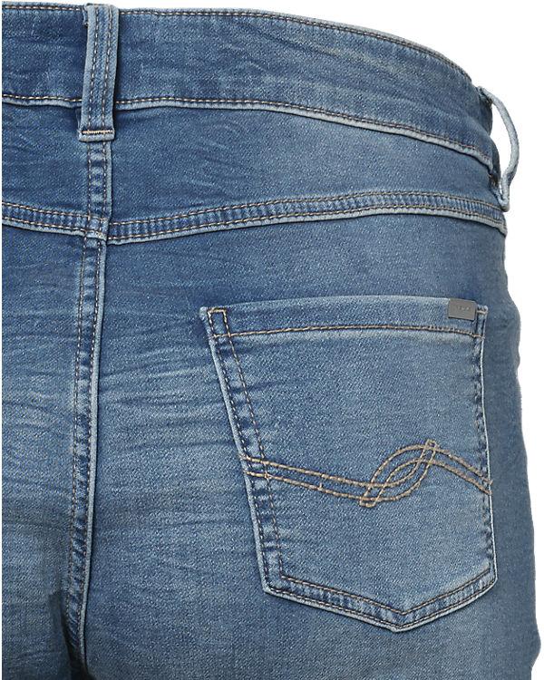 TRIANGLE Jeans Curvy Straight blau