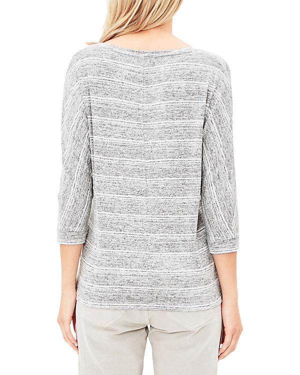 s.Oliver 3/4-Arm-Shirt grau
