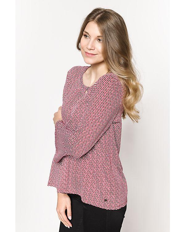 TOM TAILOR Blusenshirt rosa