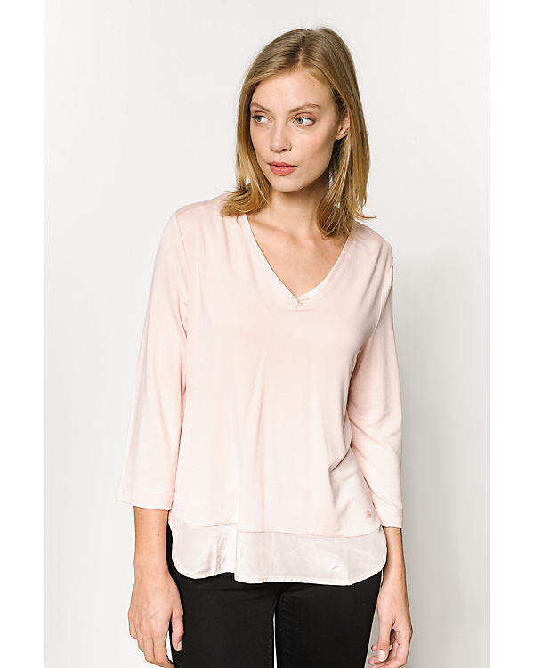 TOM TAILOR 3/4-Arm-Shirt rosa