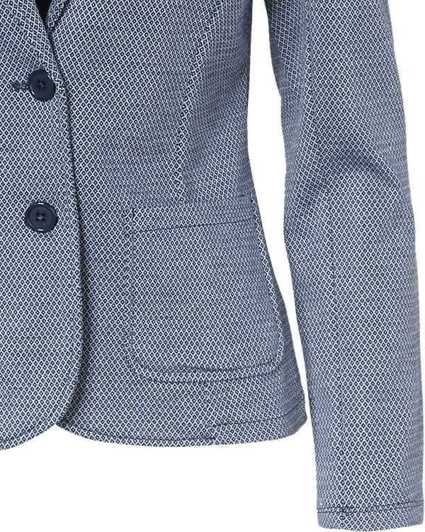 TOM TAILOR Sweatblazer dunkelblau
