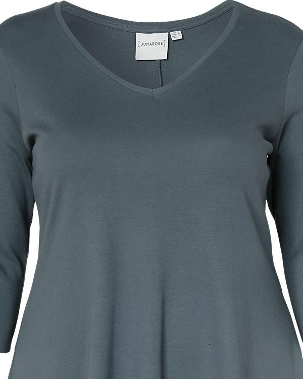 JUNAROSE Kleid, Organic Cotton grau