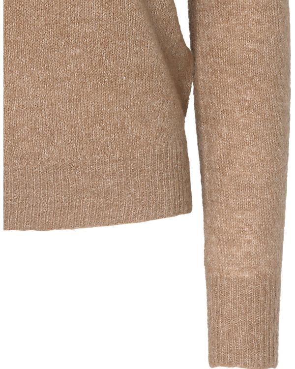 pieces Pullover beige
