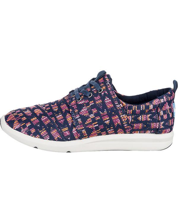 TOMS Del Rey Sneakers rot-kombi