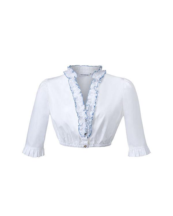 Stockerpoint Bluse weiß-kombi