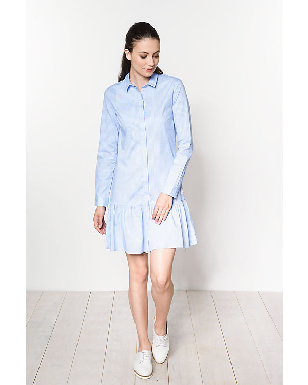 Marc O'Polo Denim Blusenkleid blau