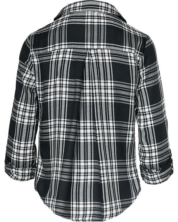 ONLY Bluse schwarz/weiß