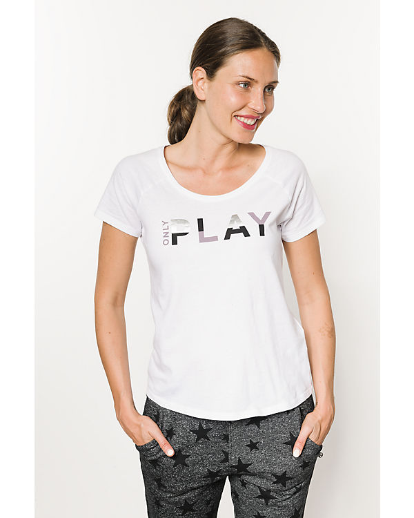 Only Play T-Shirt weiß