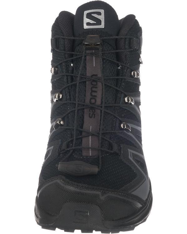 Salomon X-Chase Mid Gtx® Stiefeletten schwarz-kombi