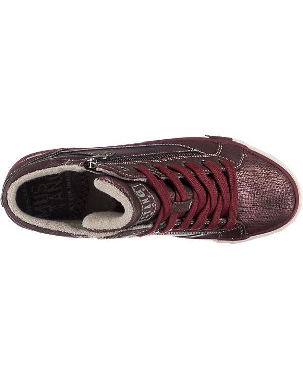 MUSTANG Sneakers bordeaux