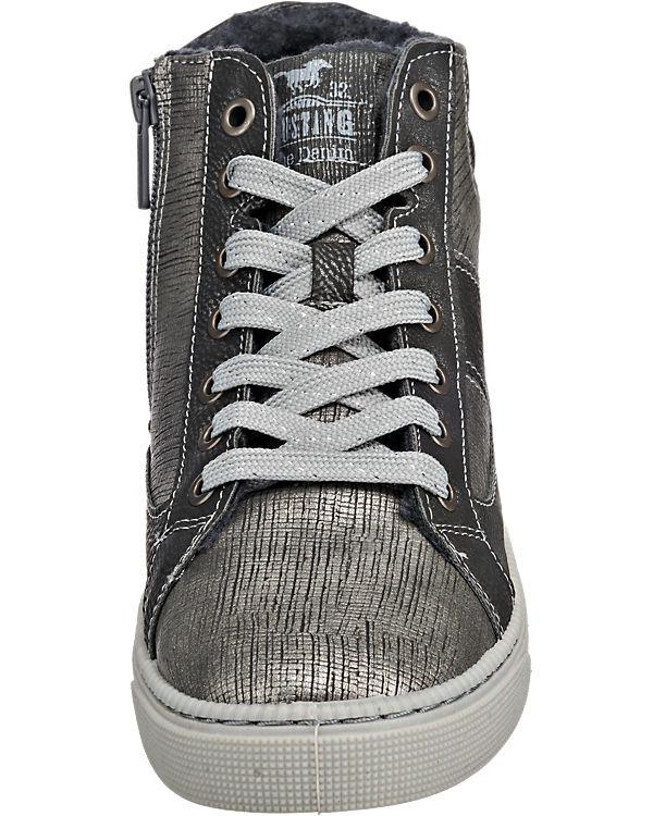 MUSTANG Sneakers grau