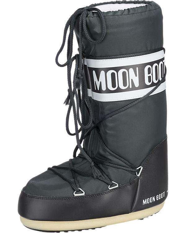 Moonboot Nylon Stiefel anthrazit