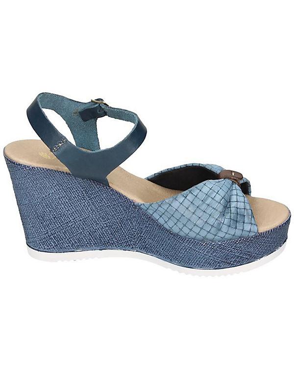 Piazza Damen Sandalette blau