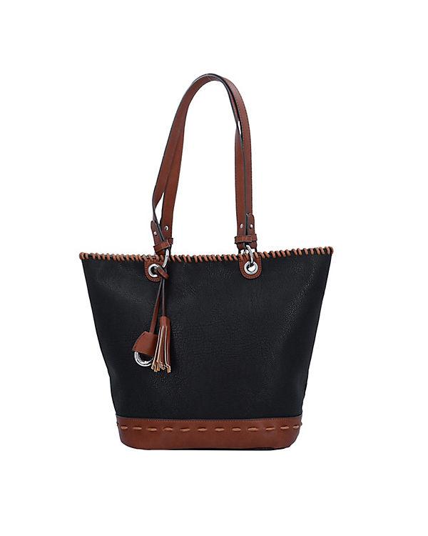 Gabor Gabor Napoli Shopper Tasche 42 cm schwarz