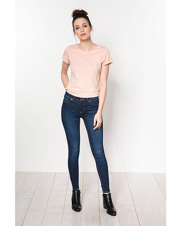pieces Jeans Skinny dark blue denim