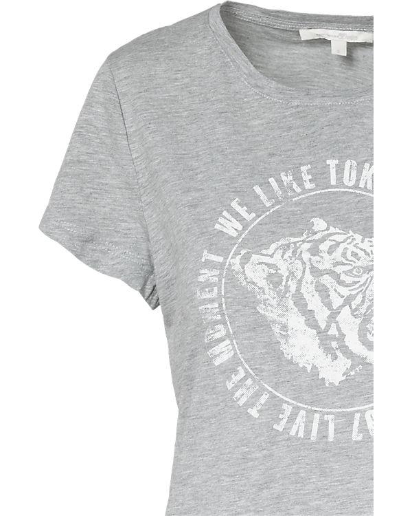 TOM TAILOR Denim T-Shirt grau