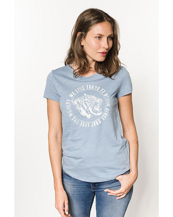 TOM TAILOR Denim T-Shirt blau