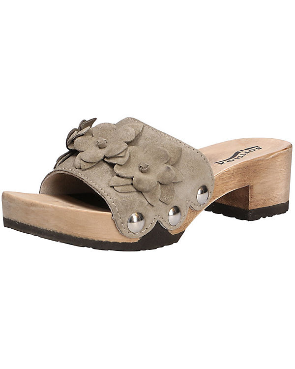 SOFTCLOX Fashion Pantolette PIPPA beige