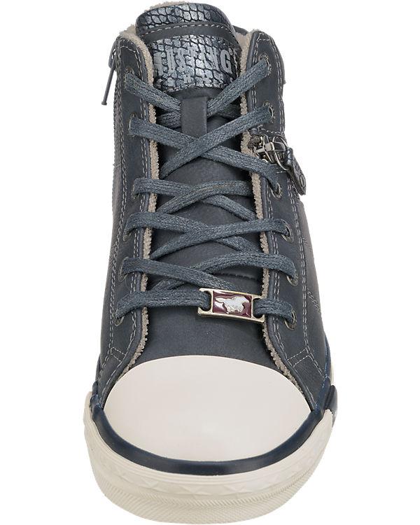 MUSTANG Sneakers dunkelblau