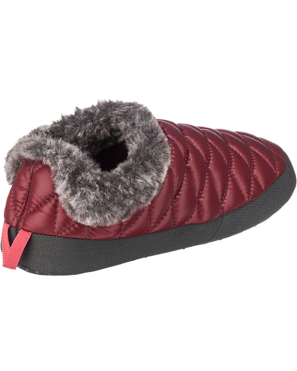 THE NORTH FACE ThermoBall Tent Mule Fake Fur IV Hausschuhe rot