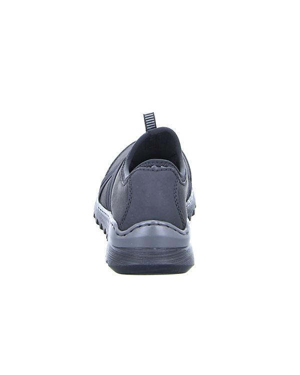rieker Slipper M6283 schwarz