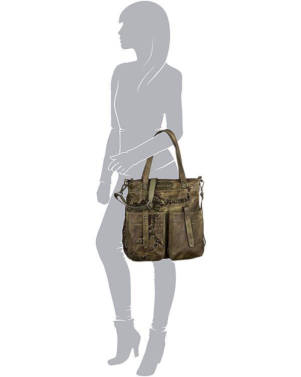 Taschendieb Taschendieb Handtasche dunkelgrün