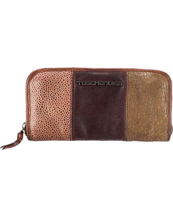 Taschendieb Taschendieb Geldbörse dunkelbraun