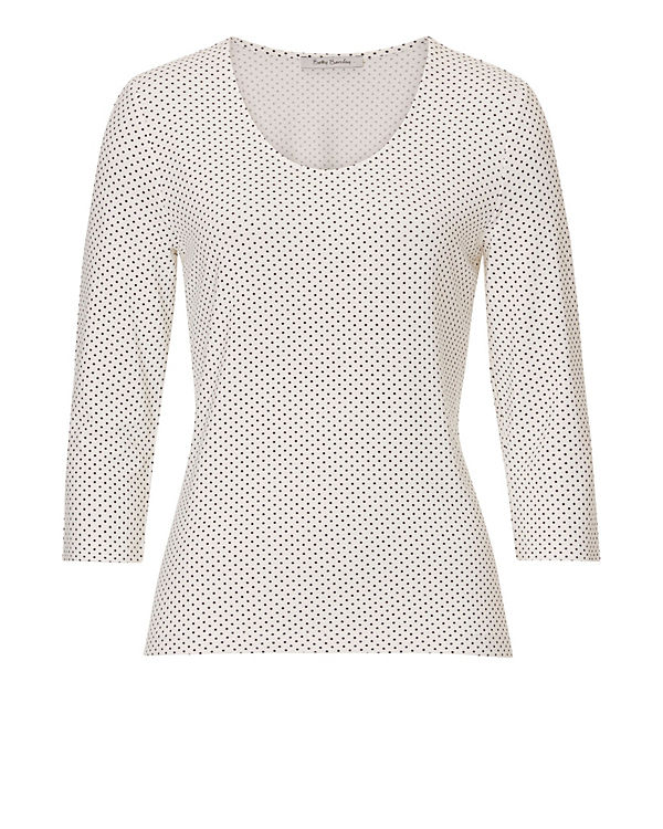 Betty Barclay 3/4-Arm-Shirt weiß-kombi