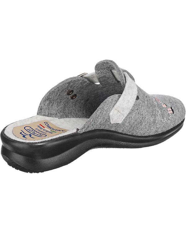 FLY FLOT Hausschuhe grau