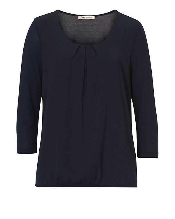 Betty Barclay 3/4-Arm-Shirt dunkelblau