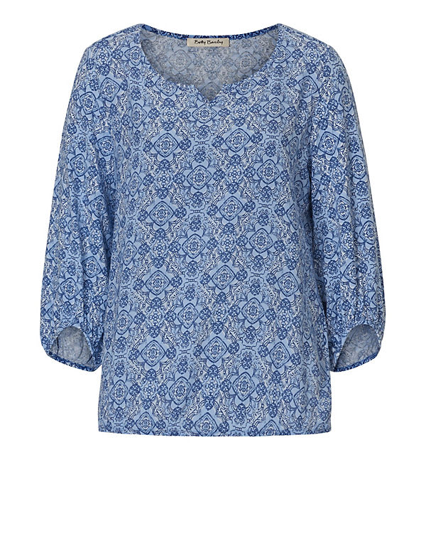 Betty Barclay 3/4-Arm-Shirt blau