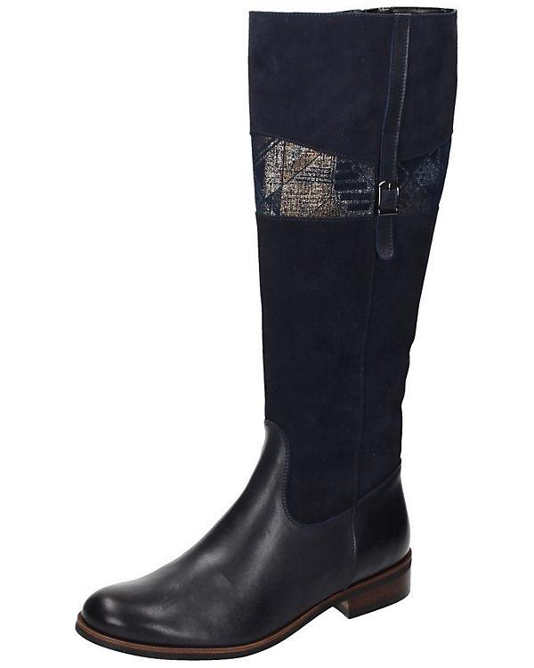 Piazza Damen Stiefel blau