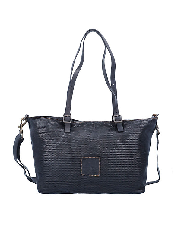 Campomaggi Campomaggi Tarassaco Shopper Tasche Leder 35 cm schwarz