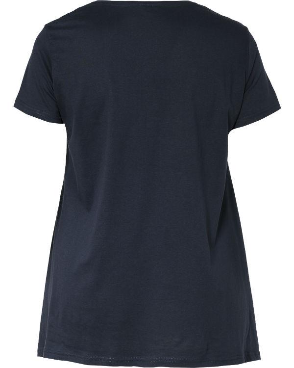 Zizzi T-Shirt dunkelblau