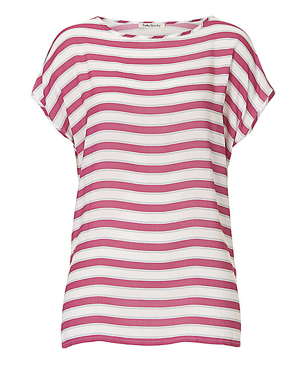 Betty Barclay T-Shirt pink/weiß